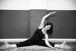 Pilates och yogastretch