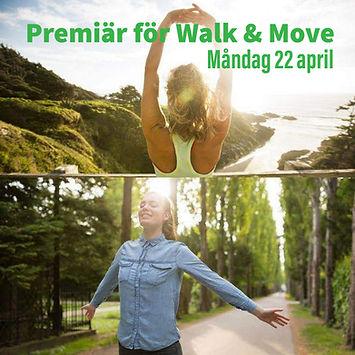 Promenad och övningar