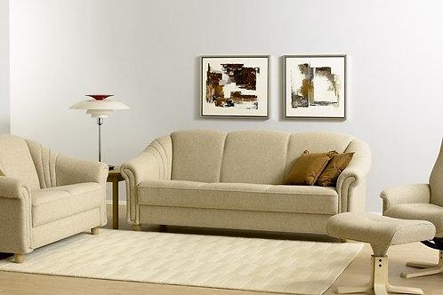 Sofa med springindlæg