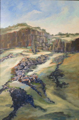Chi E Shenam Westin - Cliffs on the Boise River
