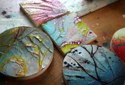 Mini Tondos and Pocket Paintings