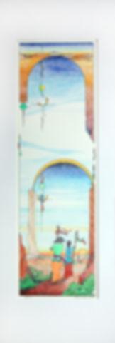 """Chi E Shenam Westin, Prisma Color 12"""" x 36"""""""