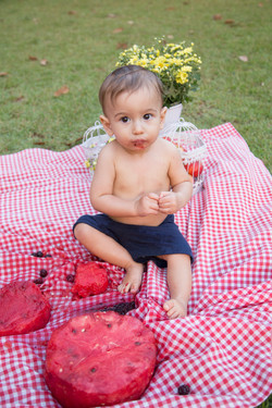 Ensaio Smash the Fruit