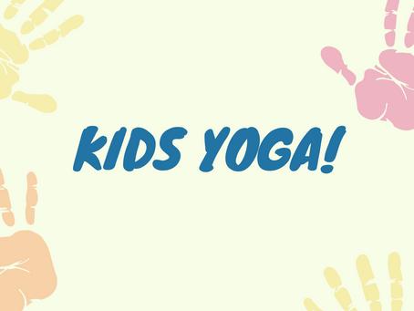 I'm now offering kids yoga!