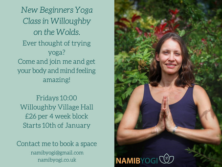 New Beginners Yoga Class