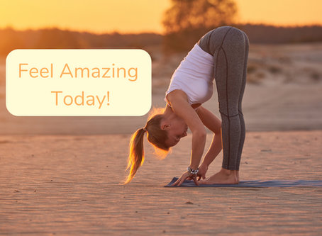 Feel Like Making Yourself Feel Amazing Today?