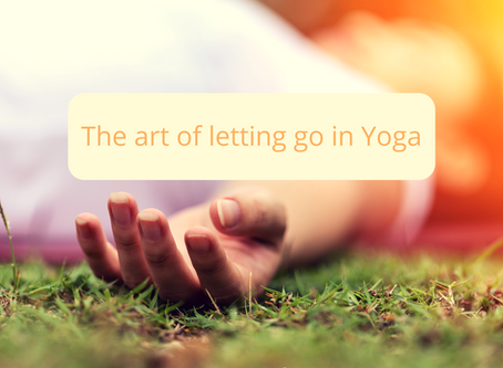The Art of Letting Go in Yoga