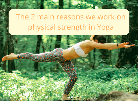 The 2 Main Reasons We Work on our Physical Strength In Yoga