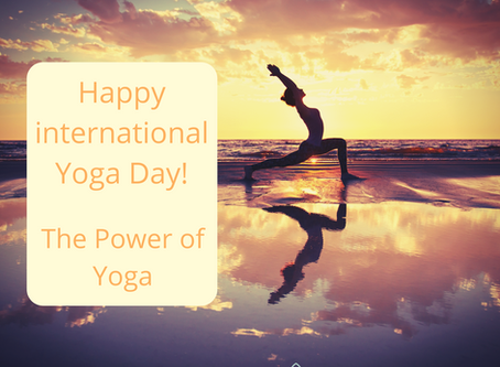 Happy International Yoga Day - The Power of yoga