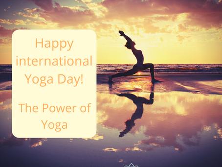 Happy International Yoga Day - The Power of yoga