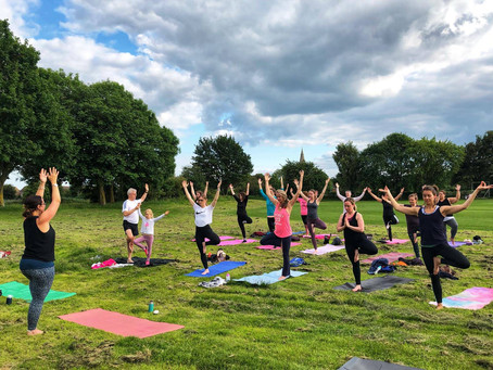 Yoga day and summer solstice 2019