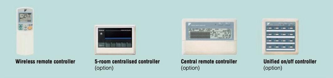 Berbagai macam sistem pengontrol memungk