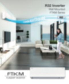 Seri FTKM menawarkan pendinginan yang cepat, kontrol kelembaban dan ketahanan tinggi catu daya yang tidak stabil. Anda sekarang dapat menikmati kenyamanan mutakhir tanpa khawatir.
