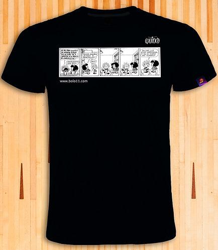Modelo Mafalda (T-shirt) SOLO COLOR NEGRO