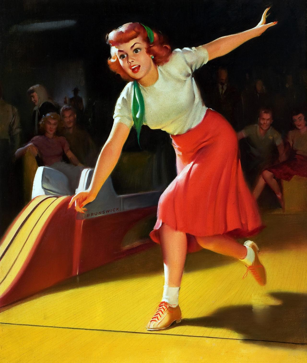 vintage bowling 2