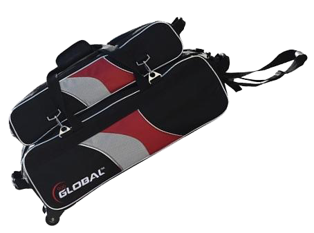 GLOBAL 900 TOTE RED/BLACK TRIPLE