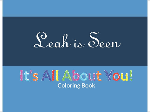 It's All About You Coloring Book