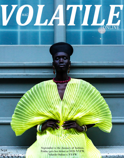 FRIDAY COVERS OUR NYFW EDITORIAL
