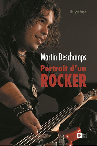 Martin Deschamps Portrait d'un rocker