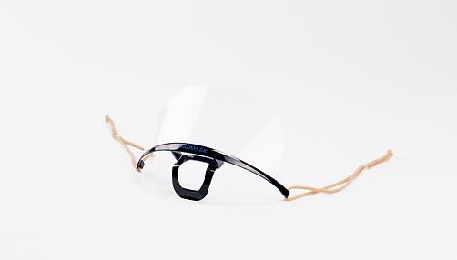 Higimask Original Black, Transparent Mask
