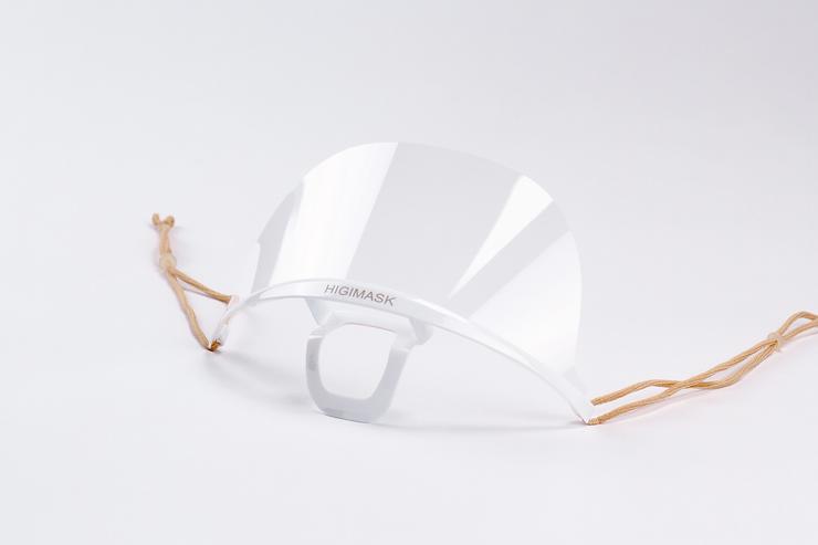 Higimask Original White, Transparent Mask