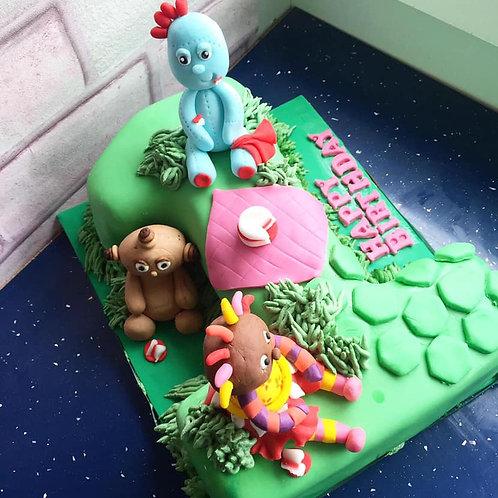 Iggle Piggle Number Cake