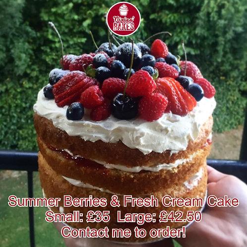 Fresh Berry Cakes