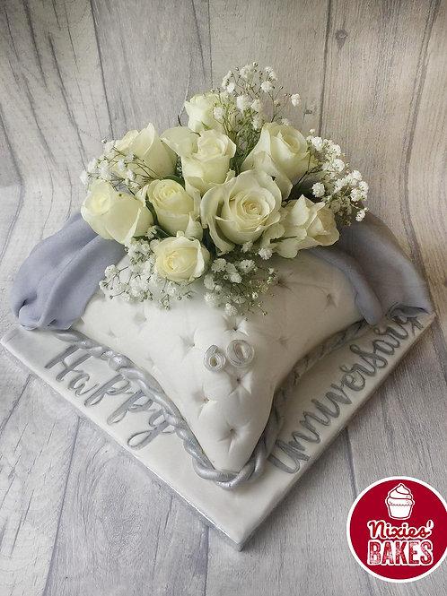 Anniversary Pillow Cake