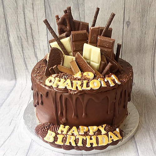 Chocolate Fudge Drip Cake