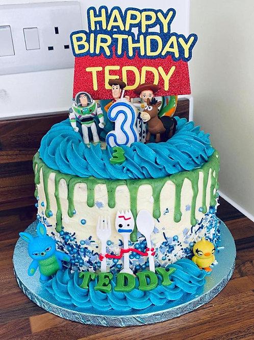 Toy Story Drip Cake
