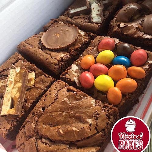 Nutty Brownie Box