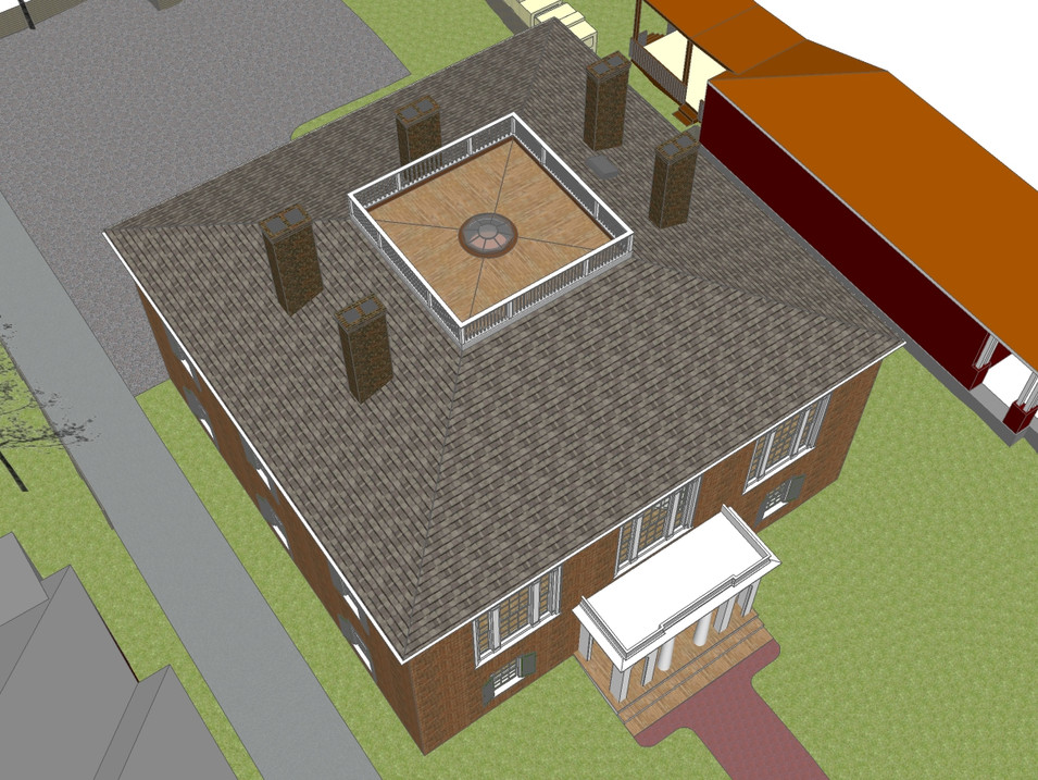 Exterior Restoration and Master Plan