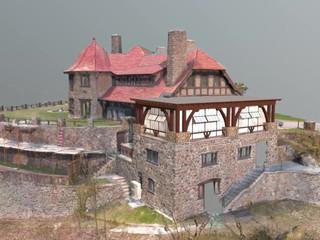 Castle in the Clouds Sun Porch