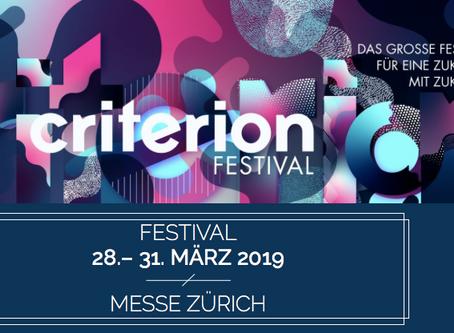 criterion FESTIVAL 28.-31.März 2019