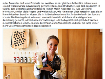 Authentica in Appenzell