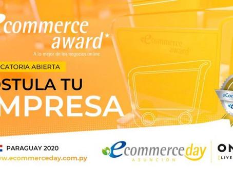 Paraguay: Abiertas las inscripciones a los eCommerce Award´s Paraguay 2020