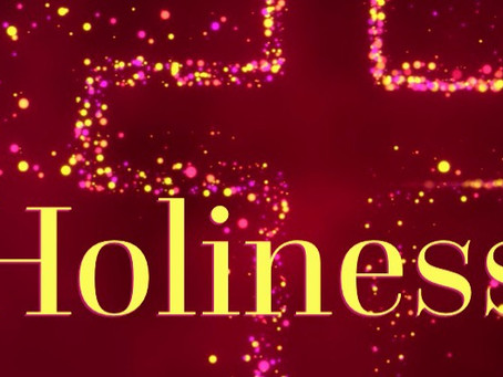 Holiness - You can do it!!