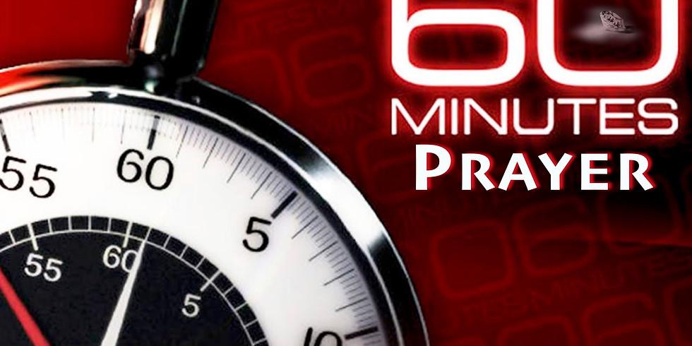 60 minutes of prayer
