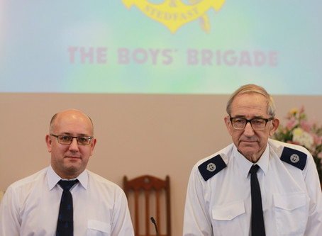Last Post for Sprowston Boys' Brigade