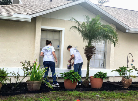 Rebuilding Together Orlando Teams Up With Advent Health During This Season Of Giving