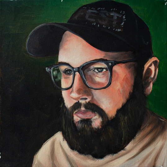 Self-Portrait (Green)