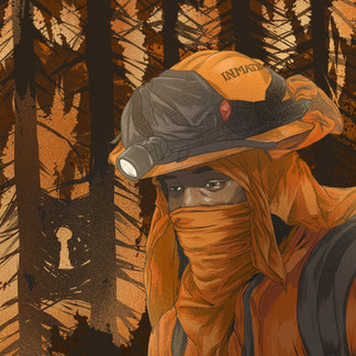On the use of prison inmates to fight forest fires.