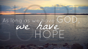 We Have This Hope - January Edition