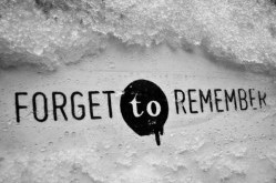 Forgetting in Order to Remember - August Edition