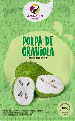 Pulpa de Guanábana 100g 60 unds