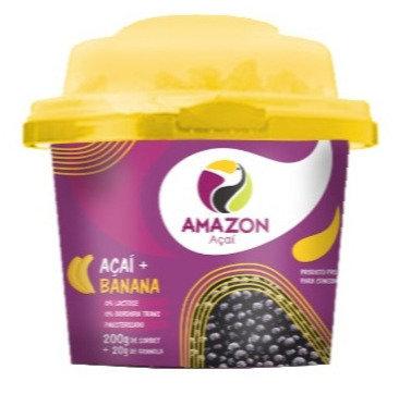 Açaí Mix con plátano 200g 12 unds