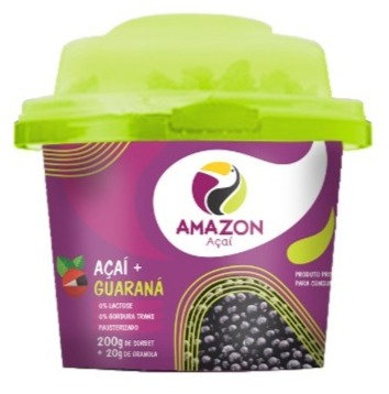 Açaí Mix con guaraná 200g 12 unds