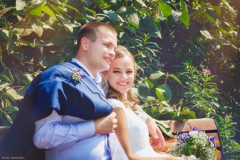 Свадебное фото, парк Северного речного вокзала г. Москва, Свадебный фотограф Павел Ремизов