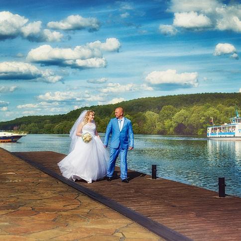 Свадебная фотосессия Даша и Сергей