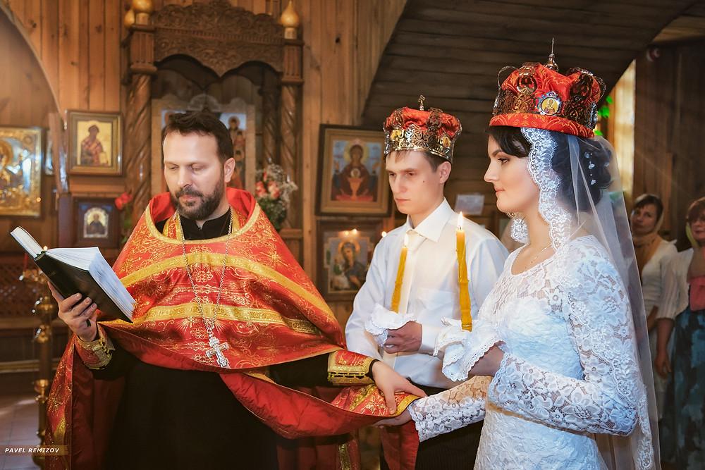 Венчание, г. Раменское, Церковь Матроны Московской, фотограф Павел Ремизов